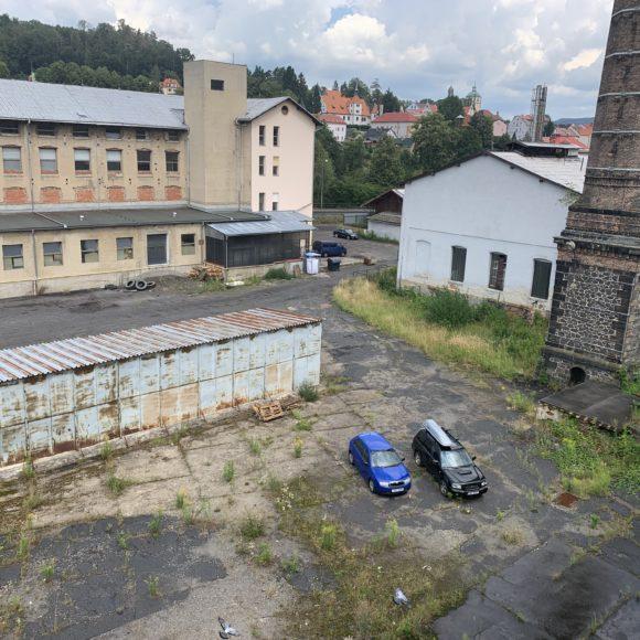 Aukce průmyslového areálu